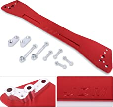 Ajp Distributors Rear Suspension Tie Bar Brace Red Subframe For Honda Civic/Del Sol/Acura Integra Ex Eg Ej Gs Rs Ls Gs-R Dc2 Upgrade Performance Replacement Racing Kit