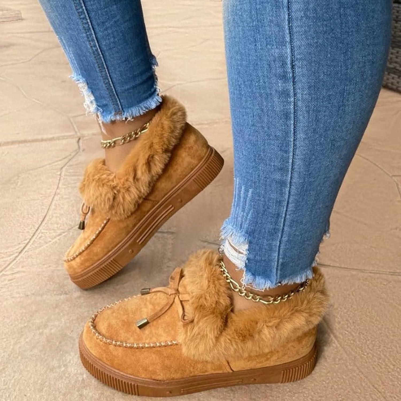 Yalaly Kandylane Casual Fashion Flat Boots for Women, Flat Boots