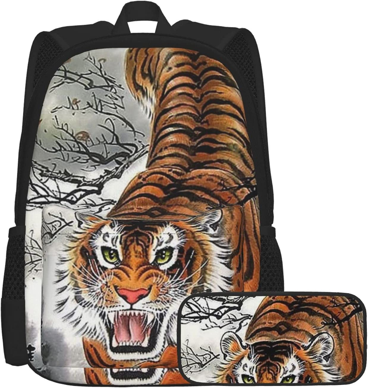 Unisex Teens Backpack with Today's only Pencil Bag Lightwei Combination Tulsa Mall Case