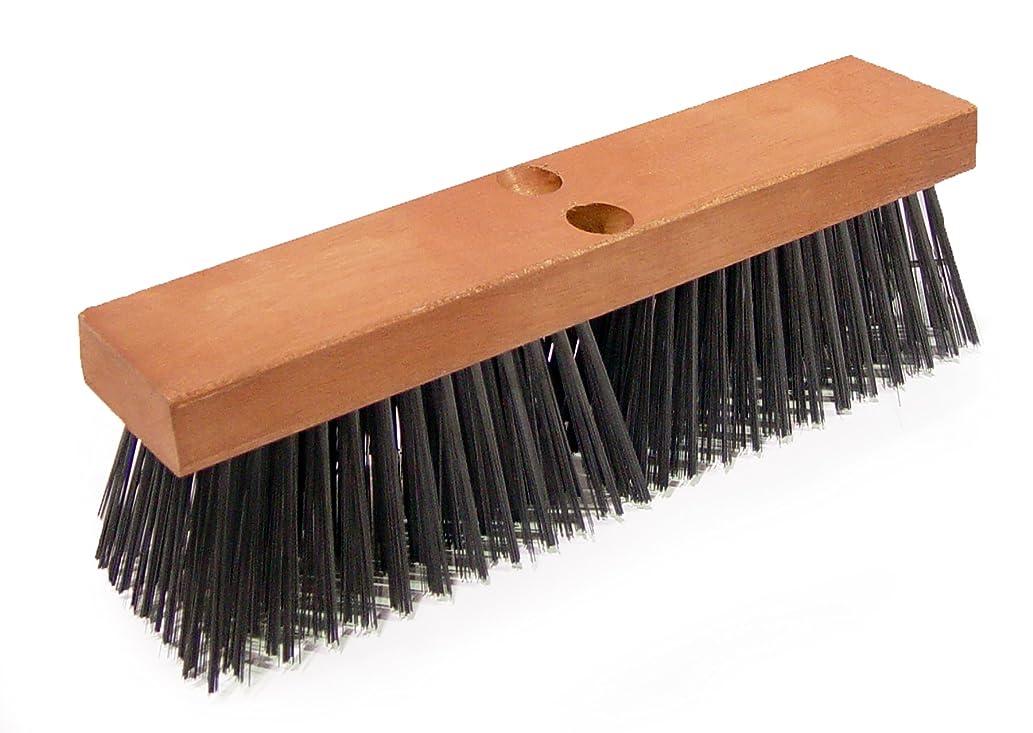 BON 82-410 Steel Wire Asphalt Broom, 16