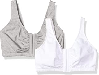 Fruit of the Loom Womens 96014A Front Close Builtup Sports Bra 2-Pack Sports Bra