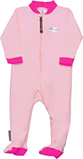 Stingray Australia Baby Sun Suit with Feet - UV Sun Protection Sunsuit for Infants (12-24 months, Pink)