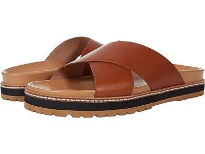 Madewell Dayna Crisscross Sandal in Leather