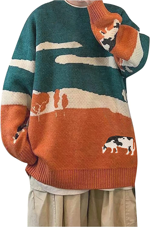 Women's Wild College Wind Loose Cloud Sweater Kawaii Vintage Cute Punk Pullover Jumper