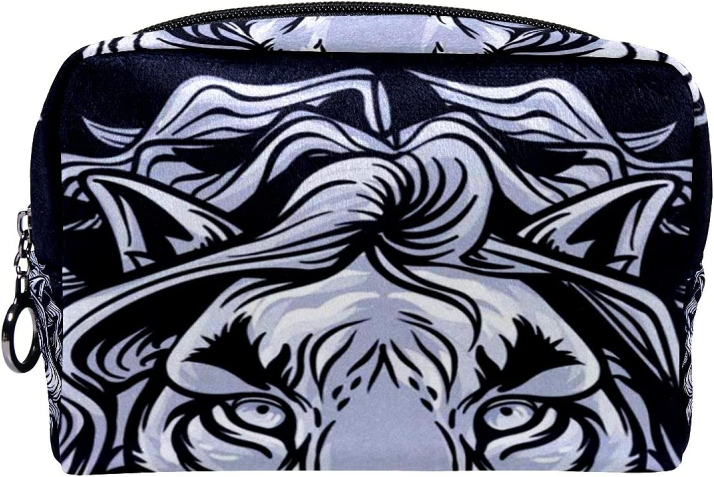 Makeup Bag Cosmetic Portable king cool Sales of SALE items from new works Today's only lion Travel