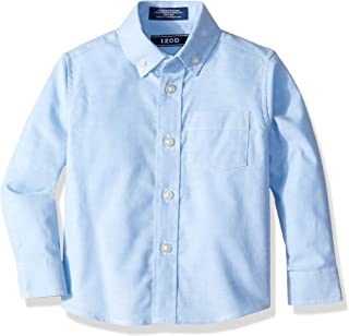 boys blue linen shirt