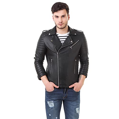 cf9affa0 Leather Jacket: Buy Leather Jacket Online at Best Prices in India ...