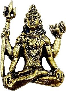 Lord Shiva om ohm deity harmony of life hindu amulet pendant rich & success with necklace & holy cloth