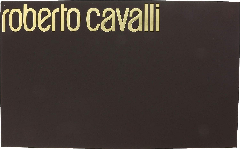 Roberto Cavalli ESZ030 04000 Green Wool Blend Leopard Print Mens Scarf for mens