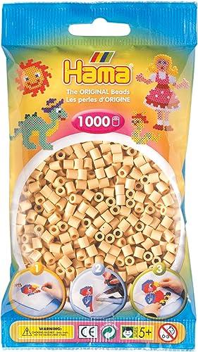 Hama - 207-27 - Loisirs Créatifs - Perles et Bijoux - Sachet 1000 Perles Beige