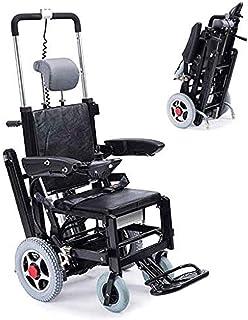 Escalera eléctrica Plegable Escalera para sillas de Ruedas, Tipo de Oruga Batería de Litio El Terreno Plano Puede ser eléctrico Caminar, Puede Subir y Bajar escaleras