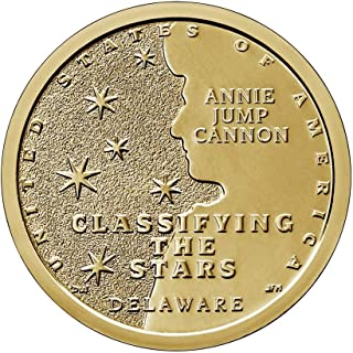 2019 P, D American Innovation Delaware - Annie Jump Cannon $1 Coin - P and D 2 Coin Set Uncircualted