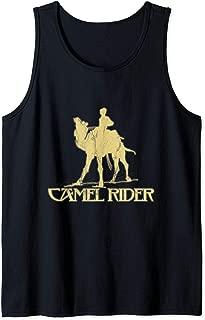 Camel rider Shriner Masonic Symbol Freemason  Tank Top