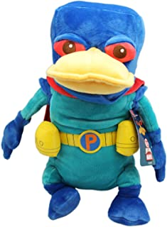 Phineas and Ferb: Mission Marvel Super Perry Plush Toy (14in)