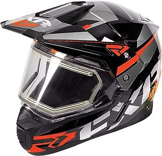 heated shield snowmobile helmet