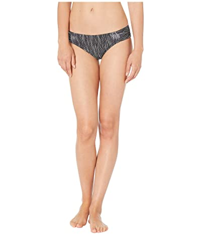La Blanca Ripple Waves Side Shirred Hipster Bottoms (Black) Women