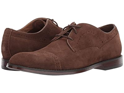 Stacy Adams Winslow Cap Toe Oxford (Tobacco Suede) Men