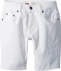 Levi's® Kids 511 Slim Fit Soft Brushed Twill Shorts (Big Kids)