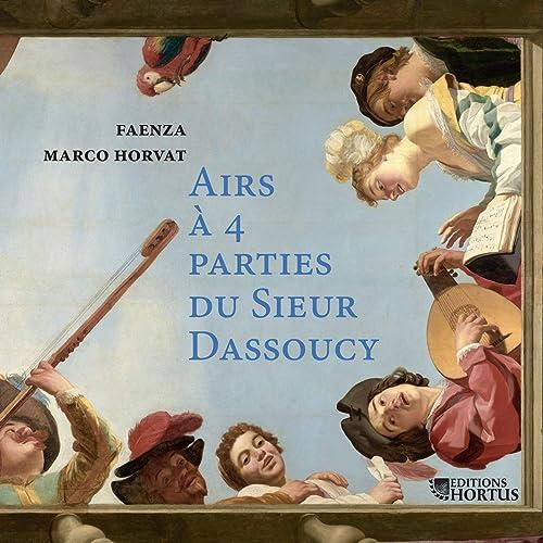Airs à quatre parties du Sieur Dassoucy