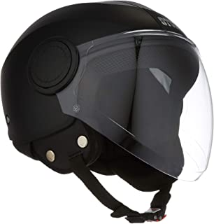 Studds Urban O/F Helmet BK/BK Strip(XL)