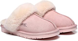 UGG Slippers Australia Premium Sheepskin Unisex Muffin Scuff Best Gifts for Womens Girls Shoes
