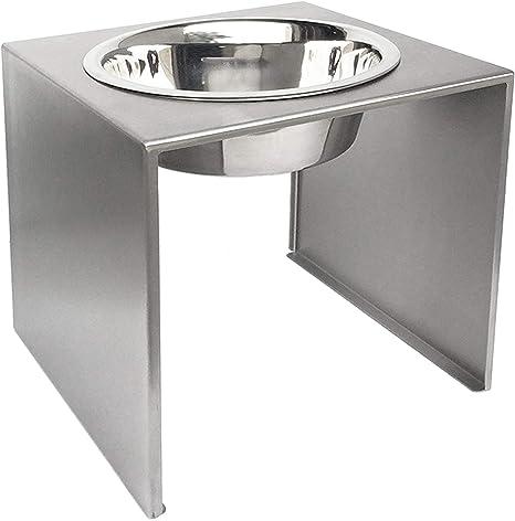 single feeder elevated dog bowls)