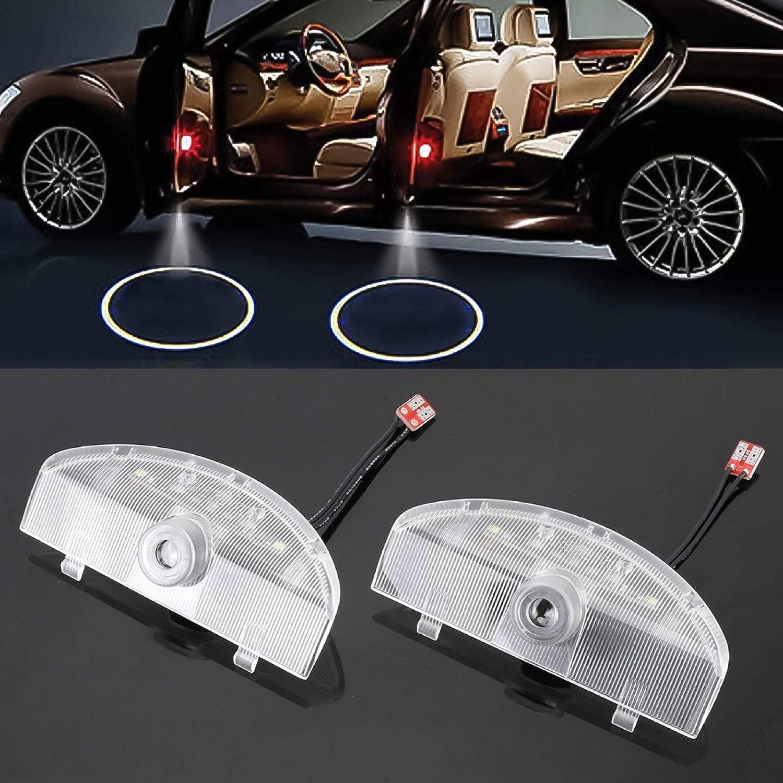 Eryanone Car Light Bulbs 2 PCS DC12V Bran Animer and price revision 2W Door Logo Cheap mail order shopping