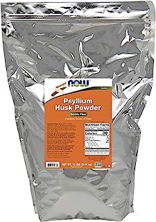 NOW Psyllium Husk Powder, 12-Pound