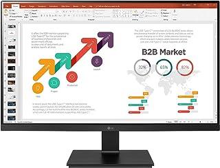 "LG 24BL650C-B 24"" FHD IPS Monitor, 5ms (GTG), USB-C, HDMI, Narrow Bezels, Ergonomic Design, Speaker, Black"