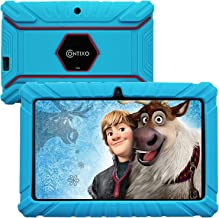 Contixo 7 Inch Kids Learning Android Tablet Parental Control 16GB for Home School Education - Google Certified Pre-Loaded Children Educational Apps - Child Proof Case - Great Gift for Toddlers (Blue)
