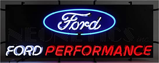 Neon sign Ford Motor Company Trucks Mustang 1903 logo Licensed Neonetics OLP