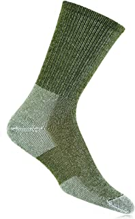 Ultra Light Hiking with Coolmax Crew Sock Willow Green, 13