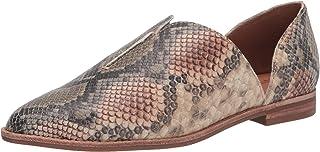 حذاء باليه مسطح للنساء من Frye Nolan Seam D'Orsay رمادي داكن، 6. 5