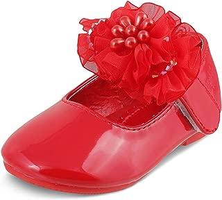 KITTENS Girls' Red Ballerinas - 3 UK