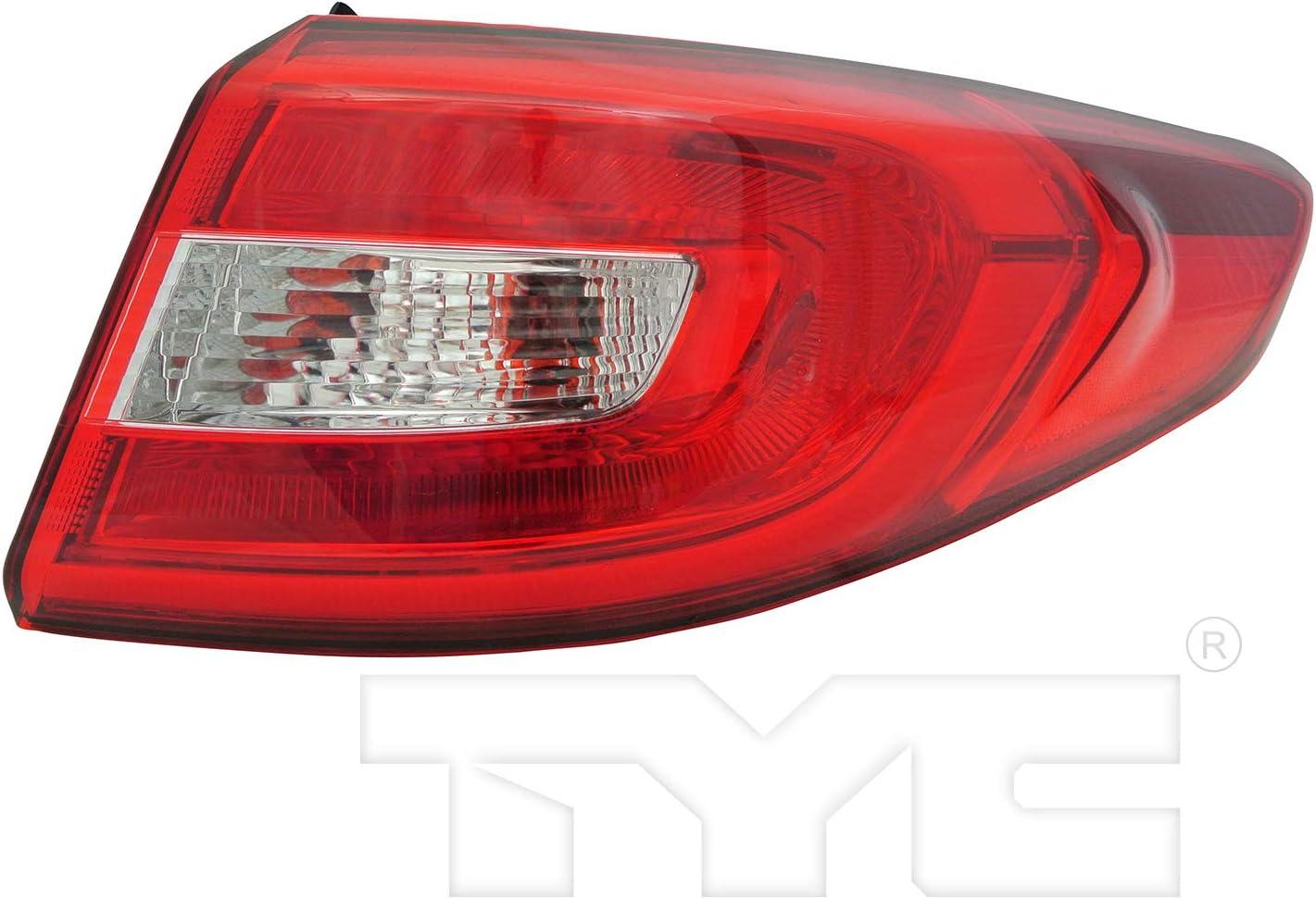 TYC 11-6721-00-9 Direct stock discount Hyundai Sonata 55% OFF Lamp Replacement Tail