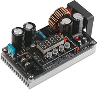 DC-DC Buck Converter, DROK Step Down Voltage Regulator DC 6V-65V to 0-60V Buck Converter 8A 400W CC CV NC Adjustable Power Supply Volt Reducer Module
