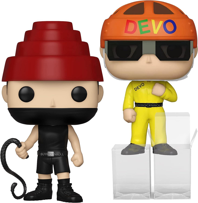 Devo Collectible Popular product 2021 Handpicked POP Max 50% OFF Satisfaction Rocks Funko