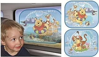 Merchandiseonline Winnie The Pooh - Sunscreen/Sun Blinds/Sunshade Set (2 Sunscreens - Pooh & Pooh & Friends)