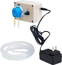 Speed Adjustable dosing Pump, Peristaltic Pump for Aquarium Lab Chemical Water Blue