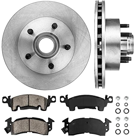 Front Stoptech 939.62020 Street Axle Pack Drilled