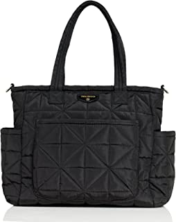 TWELVElittle Carry Love Tote Diaper Bag, Black
