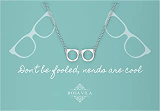 Rosa Vila Glasses Necklace, Nerdy Gifts for Women, Glasses Jewelry, Fun Gifts for Women