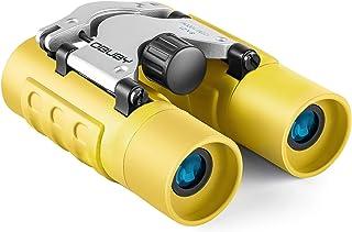 Binoculars for Kids Best Gifts for 3-12 Years Boys Girls 8x21 High-Resolution Real Optics Mini Compact Binocular Toys Shoc...