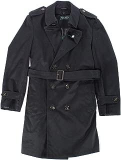 Lauren by Ralph Lauren Mens Rainwear Trench Coat