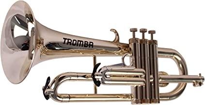 Tromba Pro Professional Plastic Bb Flugelhorn, Golden