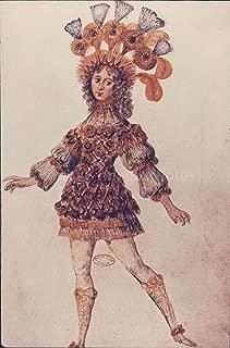Vintage Photos 1993 Press Photo Sun King God Louis XIV Costume Apollo Century France 5x7