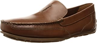Clarks Benero Race Casual & Dress Shoe For Men Brown Size 42 EU (91261369337080_Tan_8)