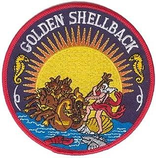 U.S. Navy Golden Shellback 4.25