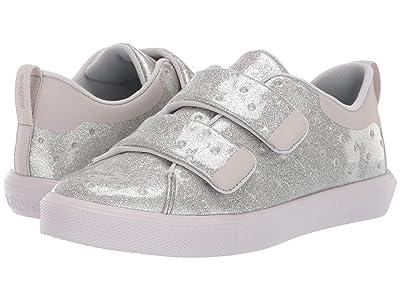 Native Kids Shoes Monaco HL Glitter (Little Kid) (Silver Glitter/Tundra Grey) Girls Shoes