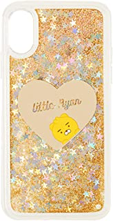 KAKAO FRIENDS Official- Little Friends Glitter Mirror Phone Case Compatible with iPhone (Ryan, 7/8 Plus)